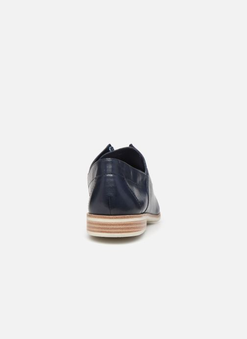 Zapatos con cordones Tamaris LAMIA Azul vista lateral derecha