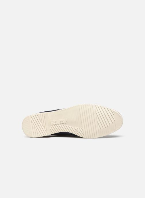 Chaussures à lacets Tamaris LAMIA Bleu vue haut