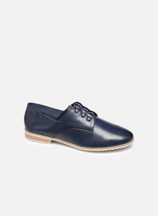 Zapatos con cordones Tamaris LAMIA Azul vista de detalle / par