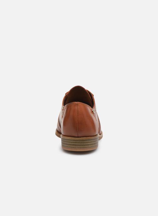 Zapatos con cordones Tamaris WILNA Marrón vista lateral derecha
