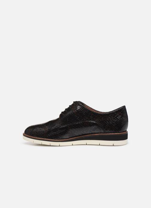 Zapatos con cordones Tamaris WLODI Negro vista de frente