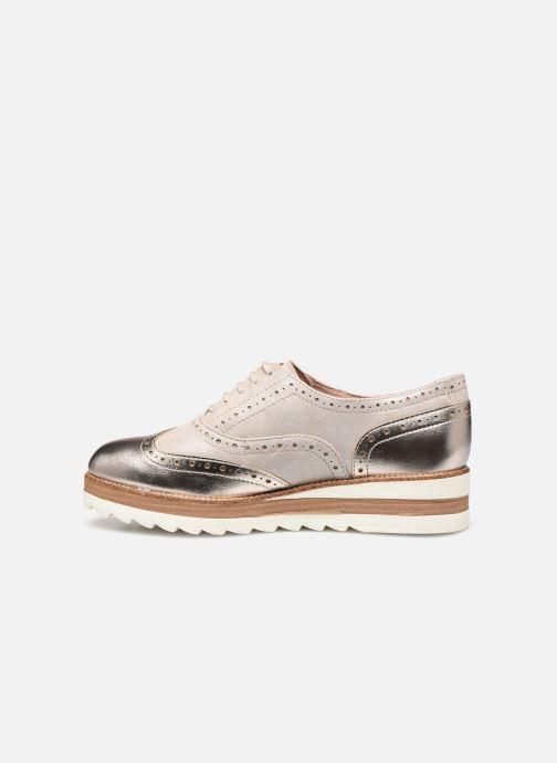 Zapatos con cordones Tamaris WLODI Oro y bronce vista de frente
