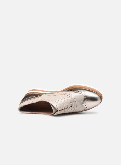 Zapatos con cordones Tamaris WLODI Oro y bronce vista lateral izquierda