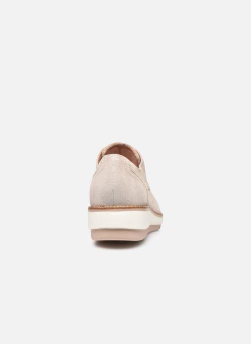 Zapatos con cordones Tamaris XAVIA Oro y bronce vista lateral derecha