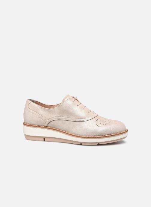 Zapatos con cordones Tamaris XAVIA Oro y bronce vistra trasera