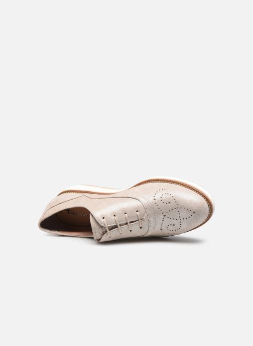 Chaussures à lacets Tamaris XAVIA Or et bronze vue gauche