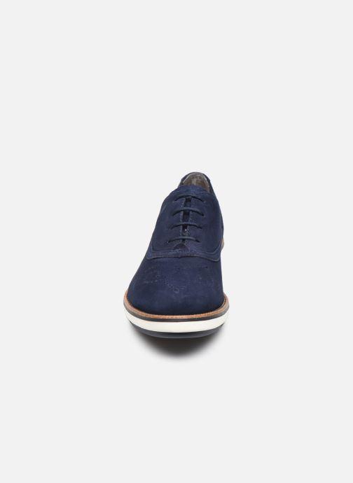 Zapatos con cordones Tamaris XAVIA Azul vista del modelo