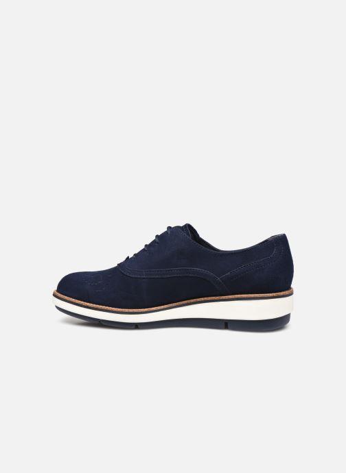 Zapatos con cordones Tamaris XAVIA Azul vista de frente