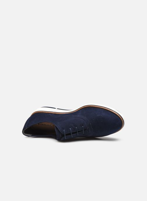 Zapatos con cordones Tamaris XAVIA Azul vista lateral izquierda