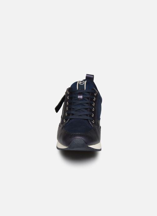 Baskets Tamaris IZLY Bleu vue portées chaussures