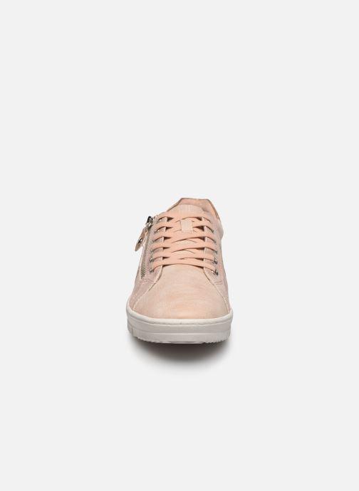 Baskets Tamaris ISSAC Rose vue portées chaussures