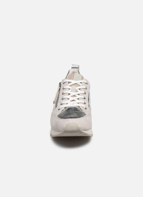 Baskets Tamaris IRWIN Argent vue portées chaussures