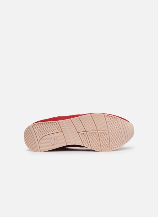 Baskets Tamaris IRWIN Rouge vue haut