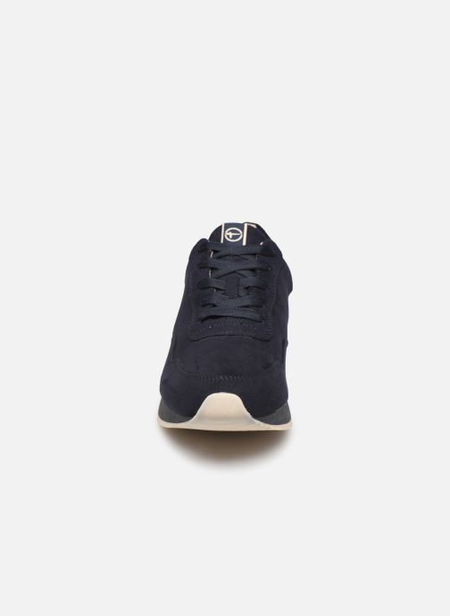 Baskets Tamaris IRWIN Bleu vue portées chaussures