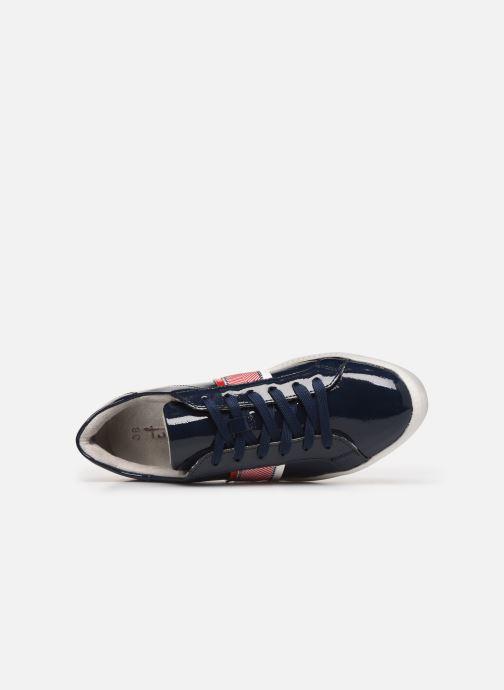 Sneaker Tamaris JIHANE blau ansicht von links