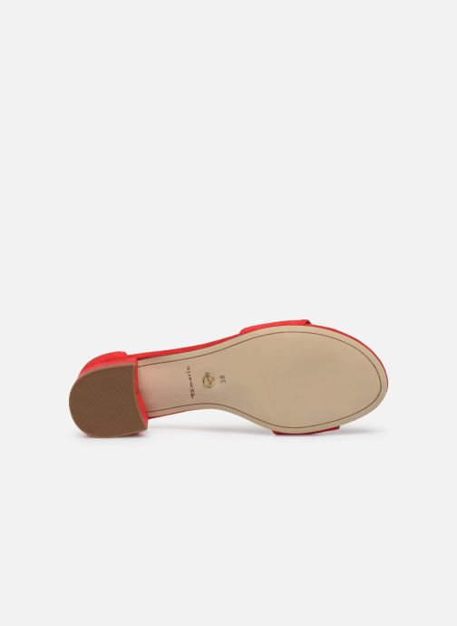 Sandales et nu-pieds Tamaris TOLA Rouge vue haut