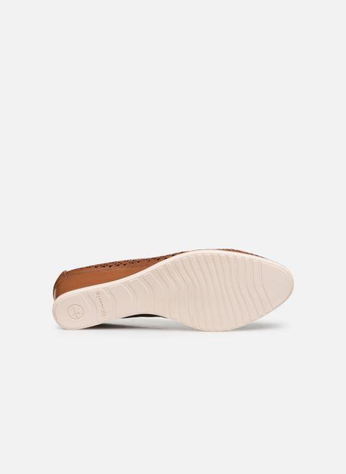 Zapatos de tacón Tamaris CESAR Marrón vista de arriba
