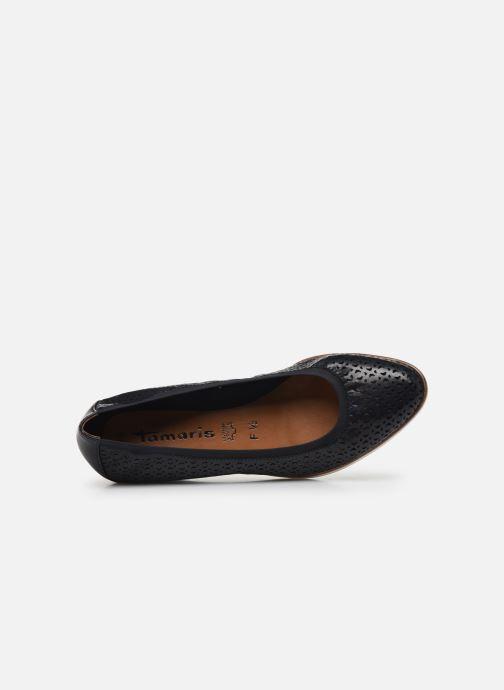 Zapatos de tacón Tamaris CESAR Azul vista lateral izquierda