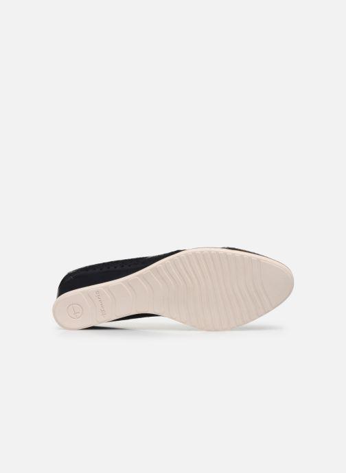 Zapatos de tacón Tamaris CESAR Azul vista de arriba