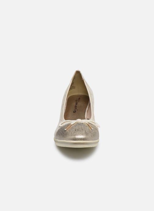Escarpins Tamaris ANYA Beige vue portées chaussures