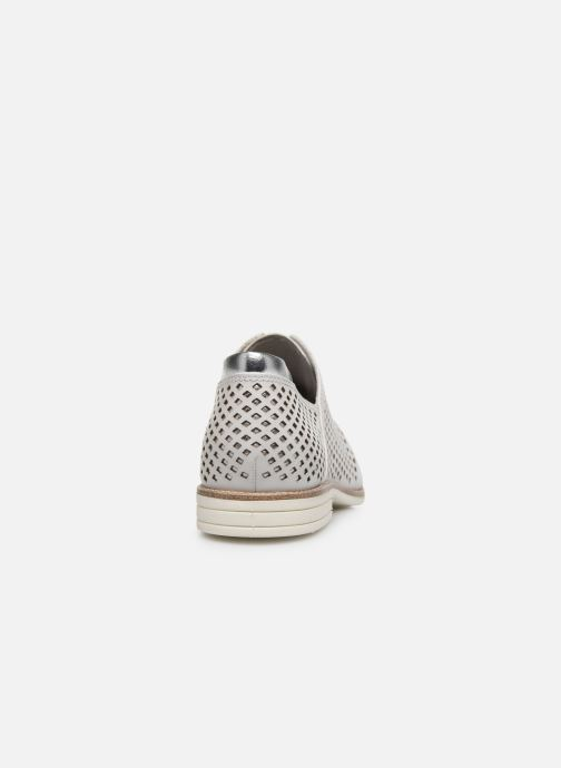 Chaussures à lacets Tamaris VIKTA Blanc vue droite
