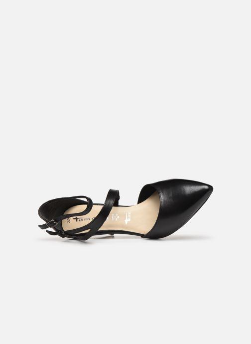 Zapatos de tacón Tamaris ZAMI Negro vista lateral izquierda