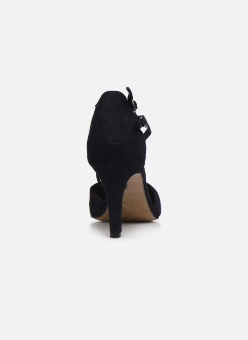 Zapatos de tacón Tamaris ZAMI Azul vista lateral derecha