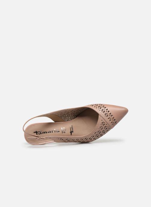 Zapatos de tacón Tamaris TASHIA Rosa vista lateral izquierda
