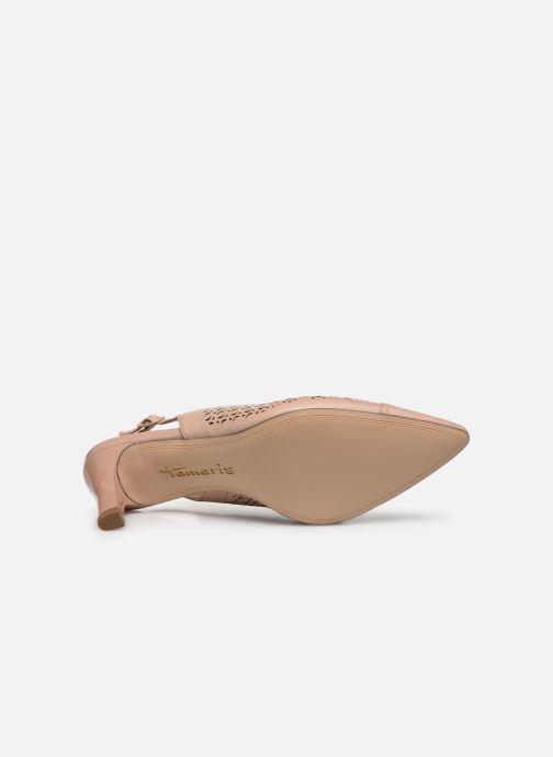 Zapatos de tacón Tamaris TASHIA Rosa vista de arriba