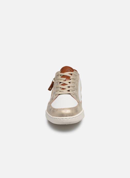 Baskets Tamaris IREN Blanc vue portées chaussures
