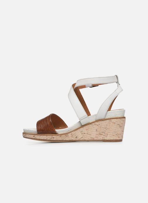 Sandales et nu-pieds Tamaris ELEA Marron vue face
