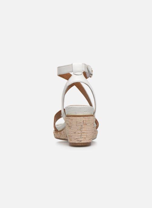 Sandales et nu-pieds Tamaris ELEA Marron vue droite