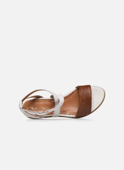 Sandales et nu-pieds Tamaris ELEA Marron vue gauche