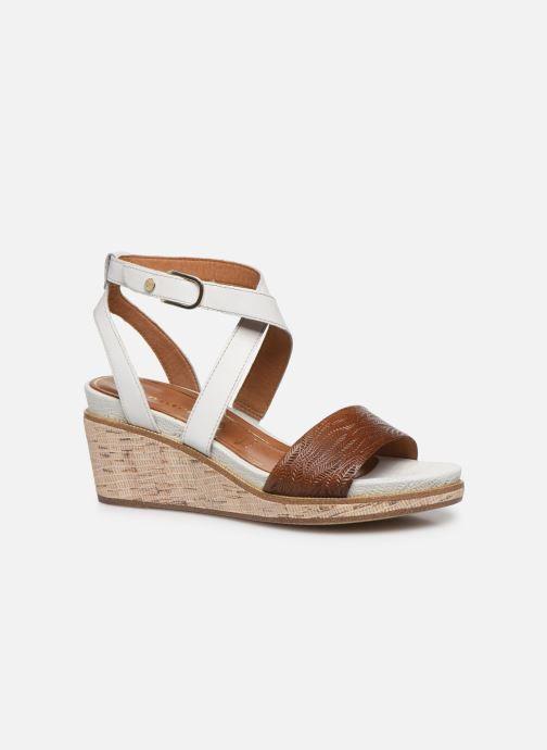 Sandales et nu-pieds Tamaris ELEA Marron vue détail/paire