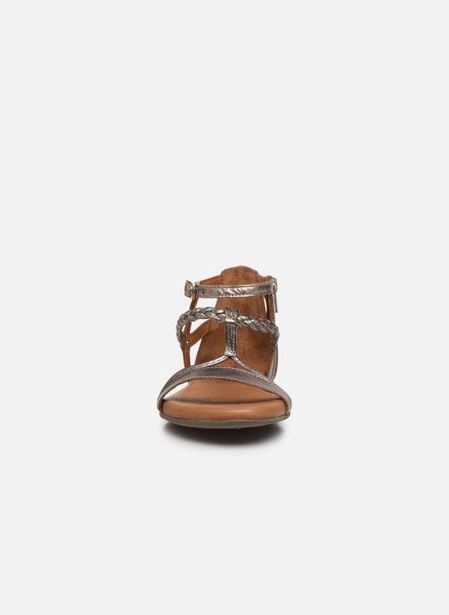 Sandales et nu-pieds Tamaris NAOO Or et bronze vue portées chaussures