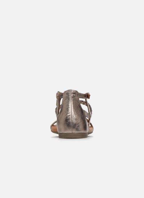 Sandales et nu-pieds Tamaris NAOO Or et bronze vue droite