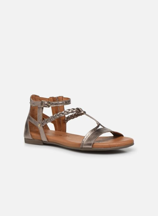 Sandales et nu-pieds Tamaris NAOO Or et bronze vue détail/paire