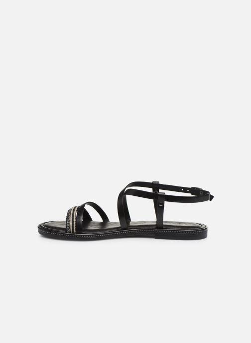 Sandales et nu-pieds Tamaris BALA Noir vue face