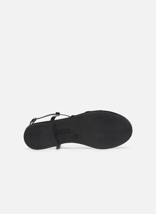 Sandales et nu-pieds Tamaris BALA Noir vue haut