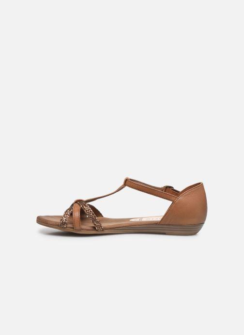 Sandales et nu-pieds Tamaris BAMBA Marron vue face