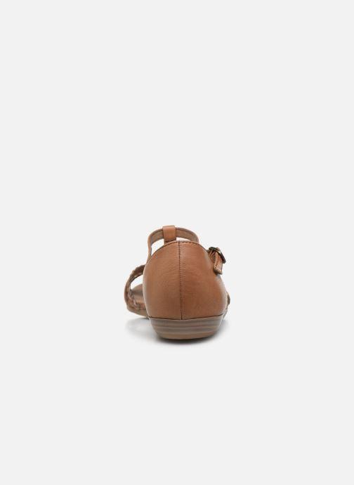 Sandales et nu-pieds Tamaris BAMBA Marron vue droite