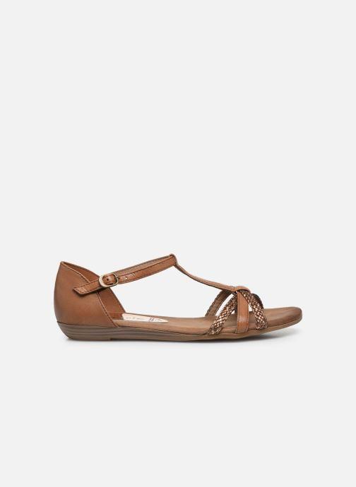 Sandales et nu-pieds Tamaris BAMBA Marron vue derrière
