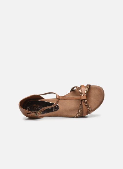 Sandales et nu-pieds Tamaris BAMBA Marron vue gauche