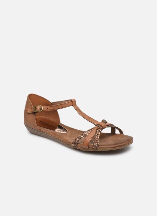 Sandales et nu-pieds Tamaris BAMBA Marron vue détail/paire