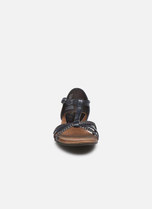 Sandales et nu-pieds Tamaris BAMBA Bleu vue portées chaussures