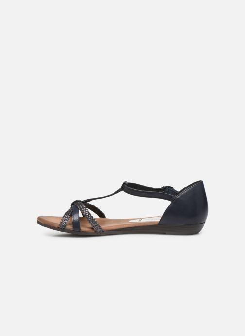 Sandales et nu-pieds Tamaris BAMBA Bleu vue face
