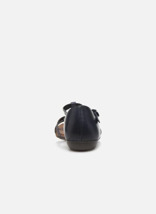 Sandales et nu-pieds Tamaris BAMBA Bleu vue droite