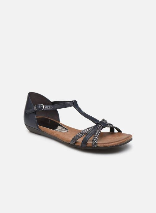 Sandales et nu-pieds Tamaris BAMBA Bleu vue détail/paire