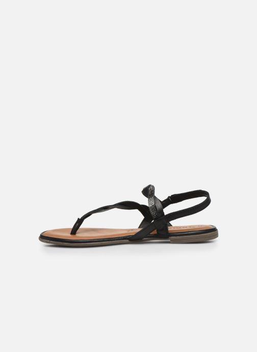 Sandales et nu-pieds Tamaris MANAO Noir vue face