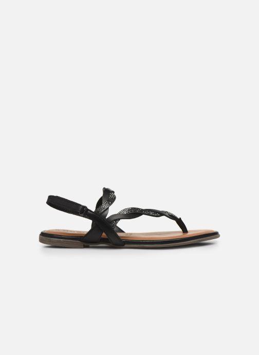 Sandales et nu-pieds Tamaris MANAO Noir vue derrière